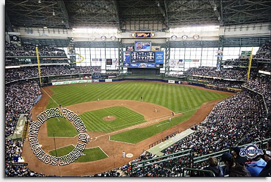 Milwaukee Brewers/Miller Park Mural MSMLB-MB-CDS12006S