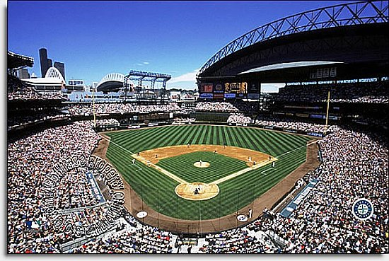 Seattle Mariners/SAFECO Field Mural MSMLB-SM-CDS12002S