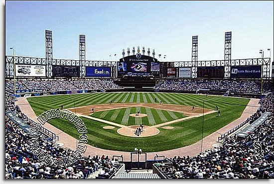 Chicago White Sox/U.S. Cellular Field Mural MSMLB-CWS-CDS12003S