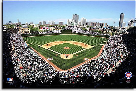 Chicago Cubs/Wrigley Field Mural MSMLB-CC-CDS12005S