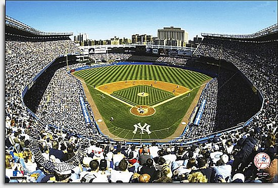 New York Yankees/Yankee Stadium Mural MSMLB-NYY-CDS12004S