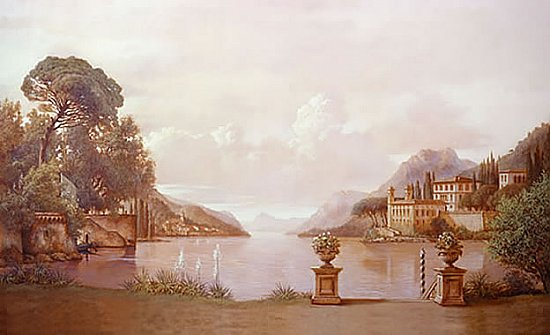 Lake Como Mural RA0207M by York