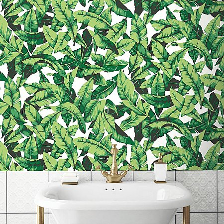 PALM LEAF PEEL & STICK WALLPAPER