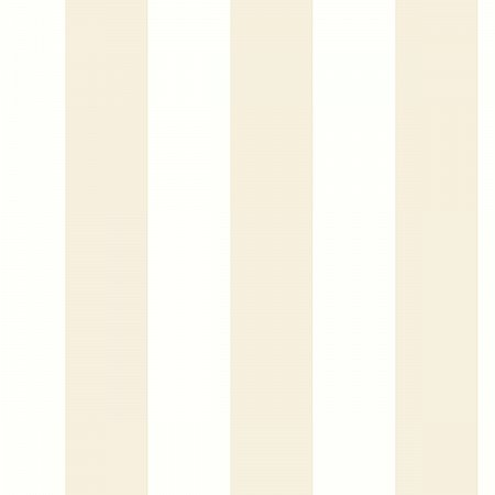 AWNING STRIPE NEUTRAL PEEL & STICK WALLPAPER