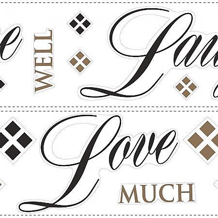 LIVE LOVE LAUGH PEEL & STICK WALL DECALS
