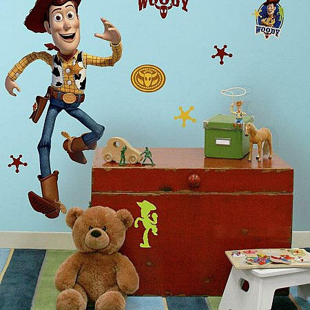 TOY STORY WOODY GIANT PEEL & STICK WALL DECAL