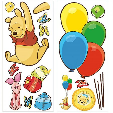 Disney Pooh & Piglet Giant Wall Decals