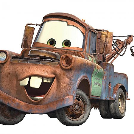 CARS - MATER PEEL & STICK GIANT WALL DECAL