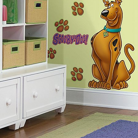 SCOOBY DOO PEEL & STICK GIANT WALL DECAL