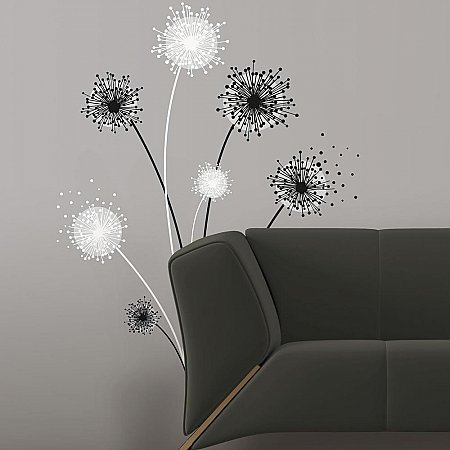 DANDELION PEEL & STICK GIANT WALL DECAL