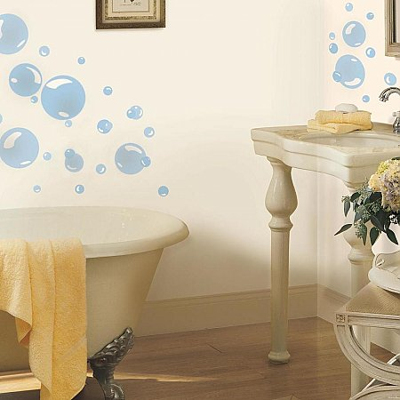 BUBBLES PEEL & STICK WALL DECALS
