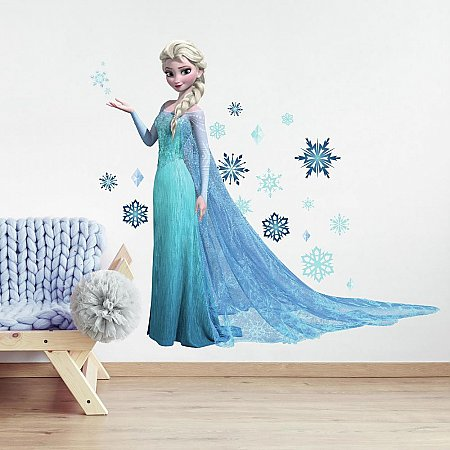 FROZEN ELSA PEEL AND STICK GIANT WALL DECALS