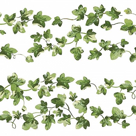 PAINTERLY IVY PEEL AND STICK WALL DECALS