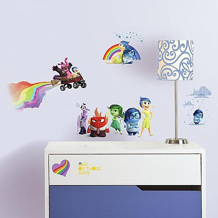 INSIDE OUT PEEL AND STICK WALL DECALS