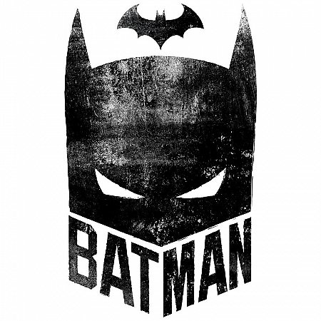 BATMAN MASK PEEL AND STICK GIANT WALL GRAPHIC
