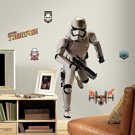 STAR WARS THE FORCE AWAKENS EP VII STORM TROOPER P&S GIANT WALL DECAL