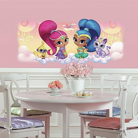 SHIMMER AND SHINE BURST GIANT WALL GRAPHIC