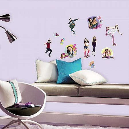 SOY LUNA PEEL AND STICK WALL DECALS