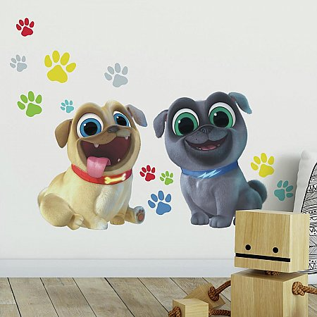 PUPPY DOG PALS PEEL AND STICK GIANT WALL DECALS