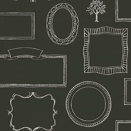 Chalkboard Frames Wallpaper