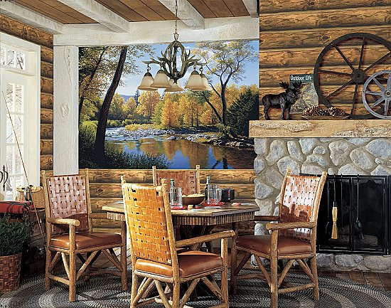 When Summer Turns to Autumn Wall Mural LM7990M